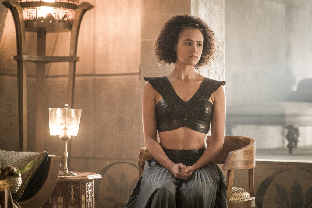 Nathalie Emmanuel as Missandei – photo Helen Sloan/HBO