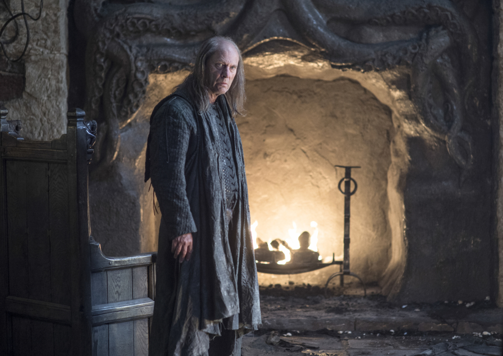 Patrick Malahide as Balon Greyjoy – photo Helen Sloan/HBO
