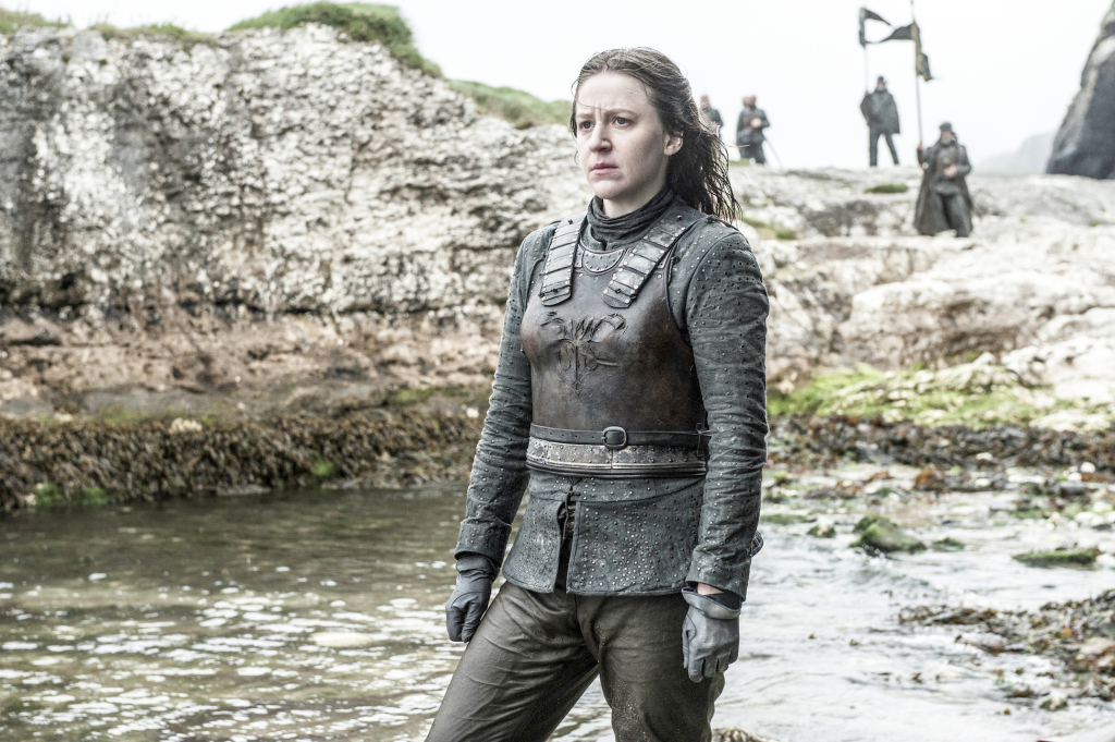 Gemma Whelan as Yara Greyjoy– photo Helen Sloan/HBO