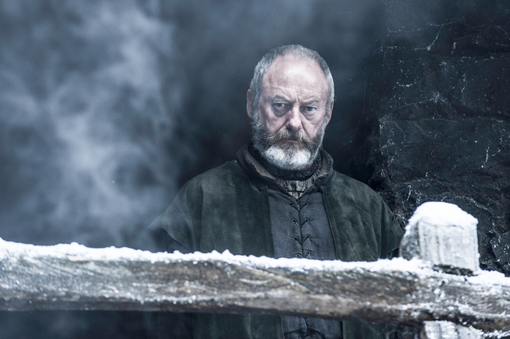 Liam Cunningham as Davos Seaworth– photo Helen Sloan/HBO
