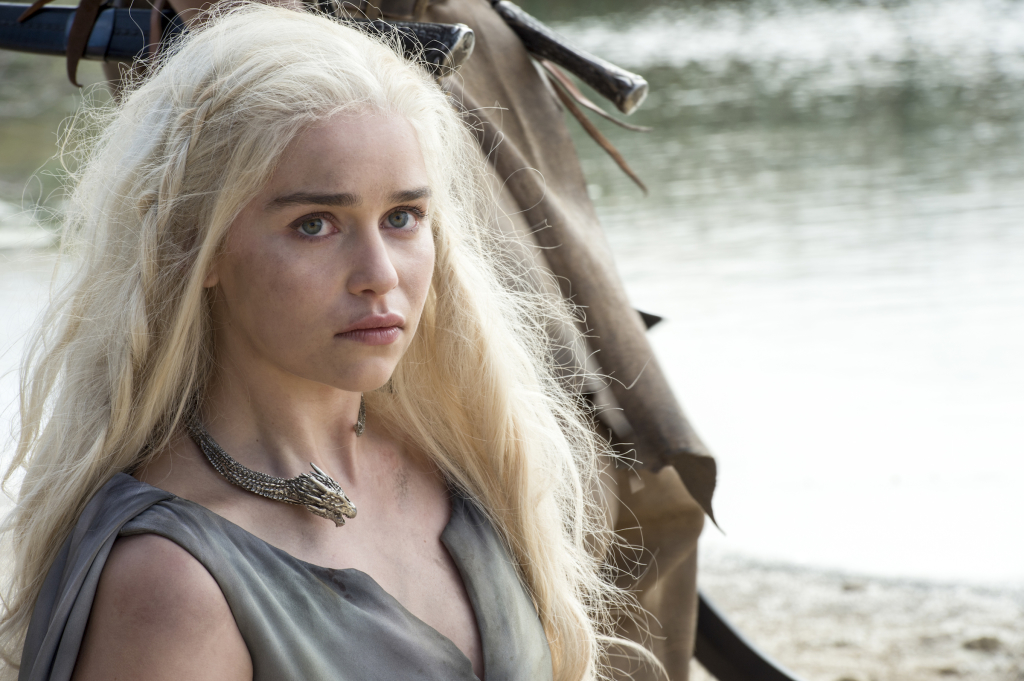 Emilia Clarke as Daenerys Targaryen – photo Macall B. Polay/HBO