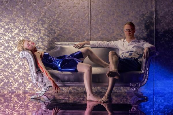 Elle Fanning & Director Nicolas Winding Refn