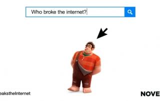 Ralph Breaks The Internet Wreck-It Ralph 2 Banner copy